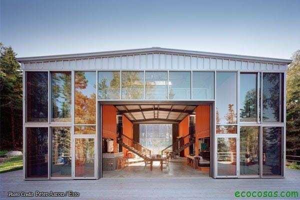 Maisons avec des conteneurs bon marché et écologiques 5
