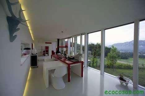 Maisons avec des conteneurs économiques et écologiques 3