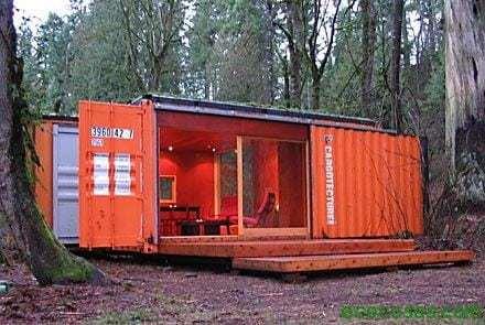 Maisons avec des conteneurs économiques et écologiques 1