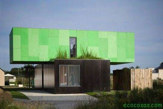 Maisons avec des conteneurs bon marché et écologiques 6